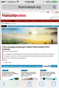 It was featured as the top article at Financial Ops and received over 500 views in just one day.